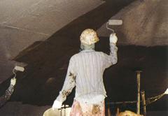 下水道施設・コンクリート防食ライニング工法